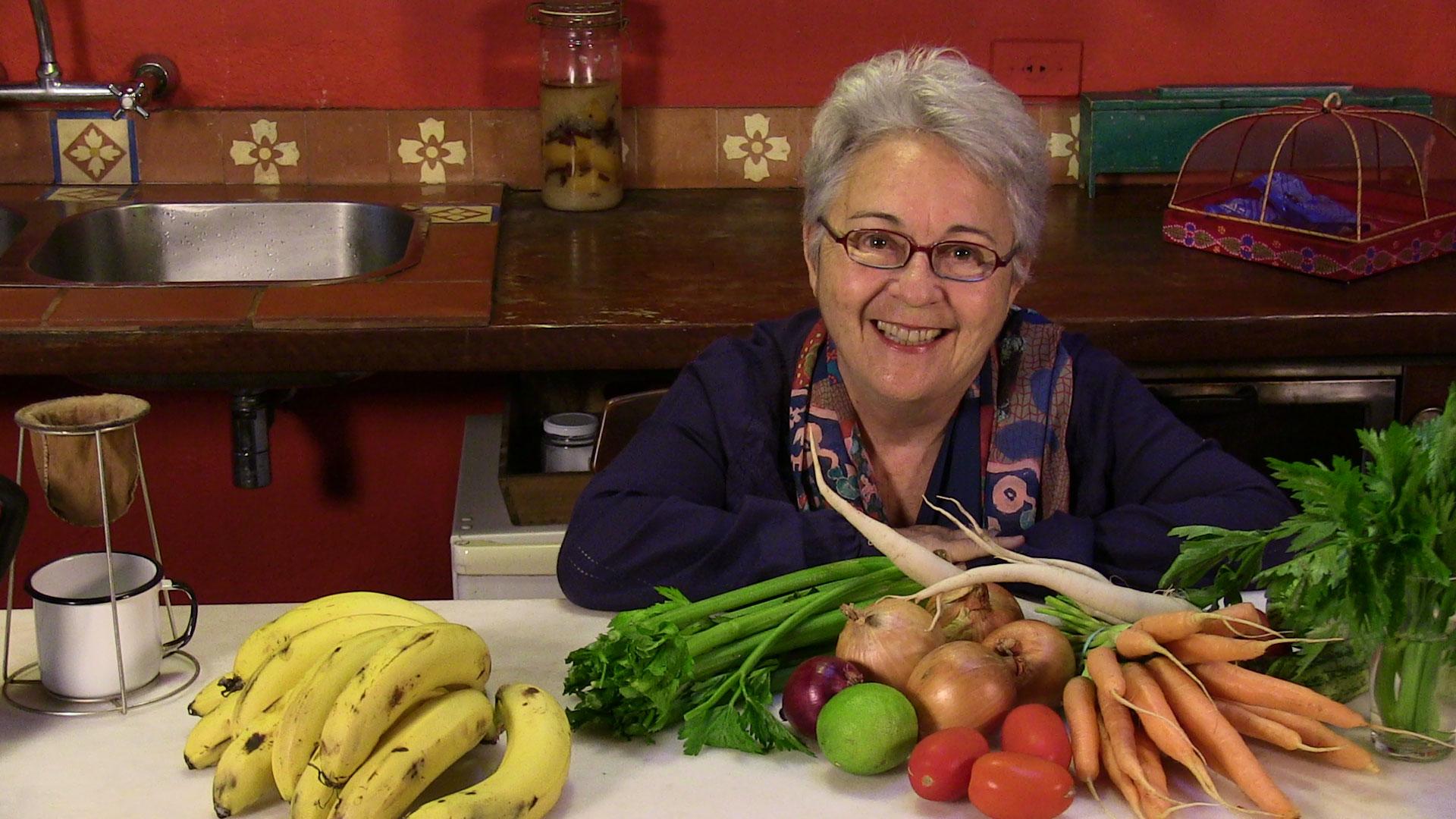 Sonia Hirsch mostra as vantagens de comer orgânicos