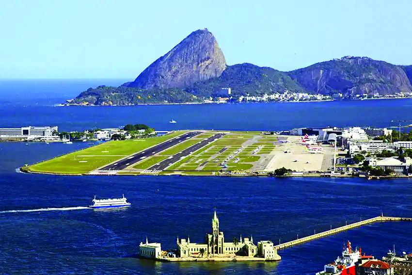 Horas de voo: obras na pista principal do Aeroporto Santos Dumont