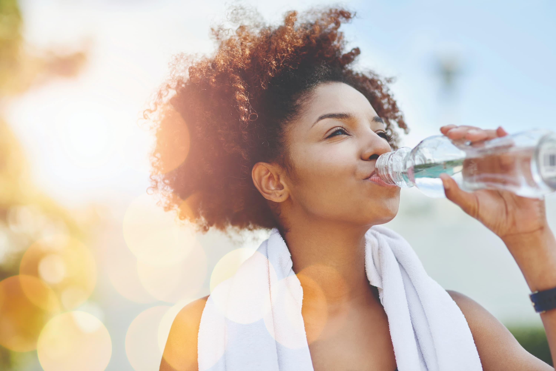 Bom de copo: a quantidade de hidratação ideal