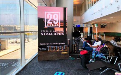 29HORAS aterrissa em Viracopos
