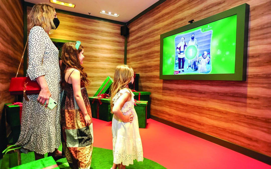 Papai Noel virtual chega aos shoppings para o Natal pandêmico