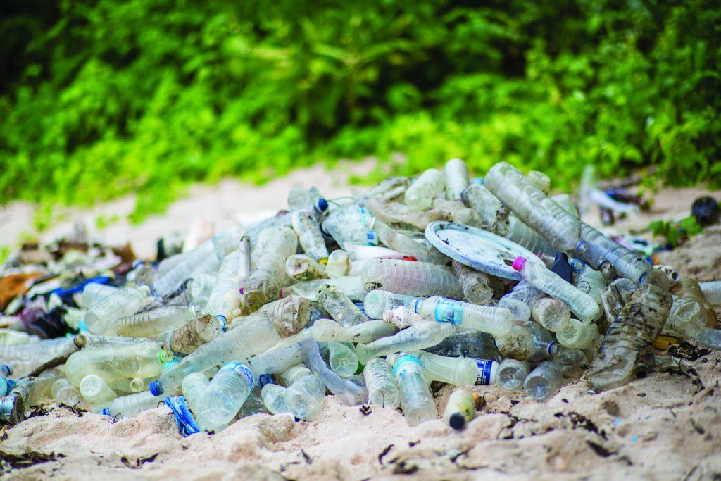 Lixo encontrado em ilha deserta - Divulgação Família Schurmann - Foto Pedro Nakano
