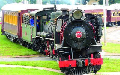 Viaje no tempo a bordo dos trens turísticos do interior paulista