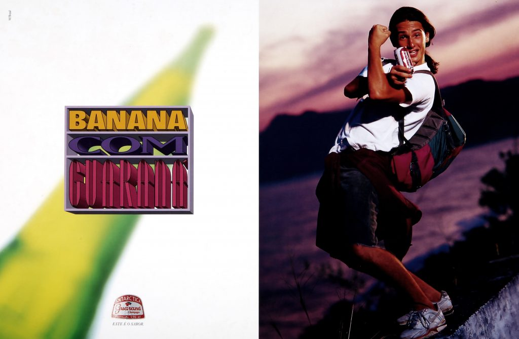 Campanha da W/Brasil para o Guaraná Antárctica de 1993