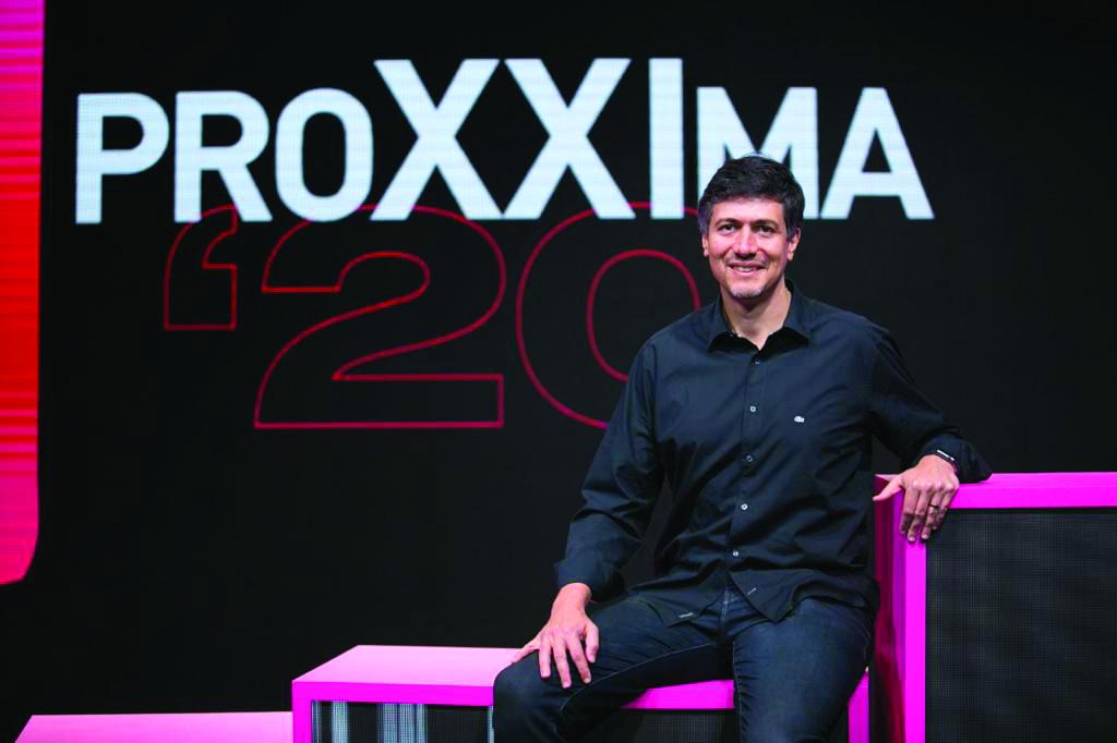 Marcelo no evento Proxxima, realizado pelo Meio e Mensagem, que discute marketing e comunicação digital no Brasil - Foto Divulgação