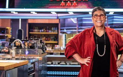 """Kátia Barbosa, jurada do """"Mestre do Sabor"""", traz em sua culinária o sabor da comida popular e a força da mulher brasileira"""