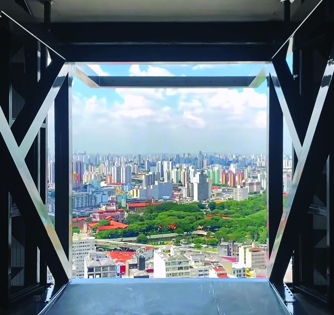 Vista do Sampa Sky para a Zona Leste - Foto divulgação
