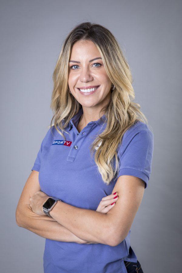 Bárbara Coelho, jornalista de esporte da emissora - Foto: Divulgação