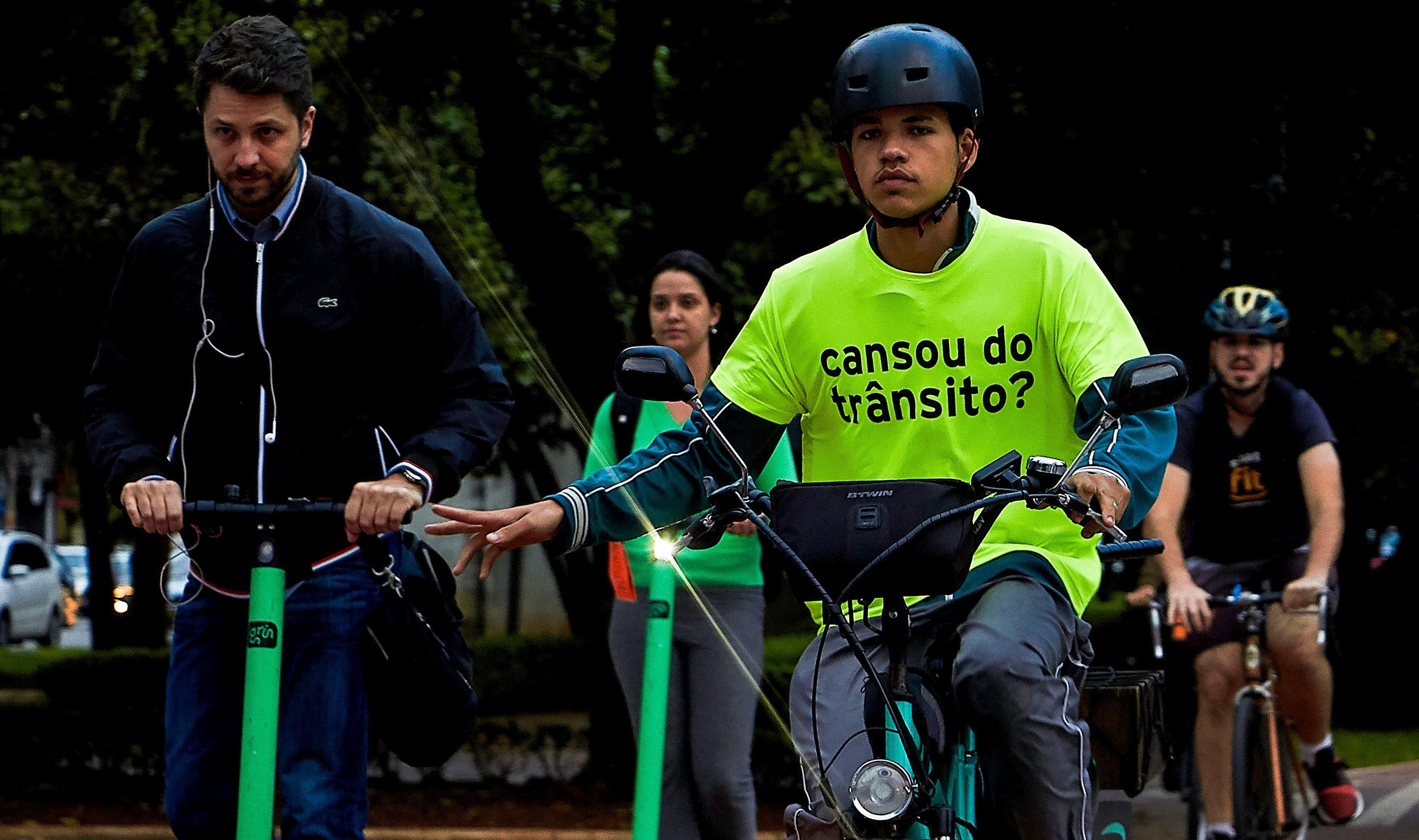 Bicicletas e patinetes reafirmam a importância de modais sustentáveis em São Paulo