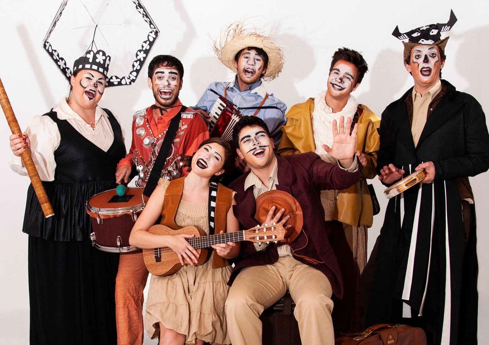 "Musical ""Mágico di Ó"" narra clássica história em forma de cordel"