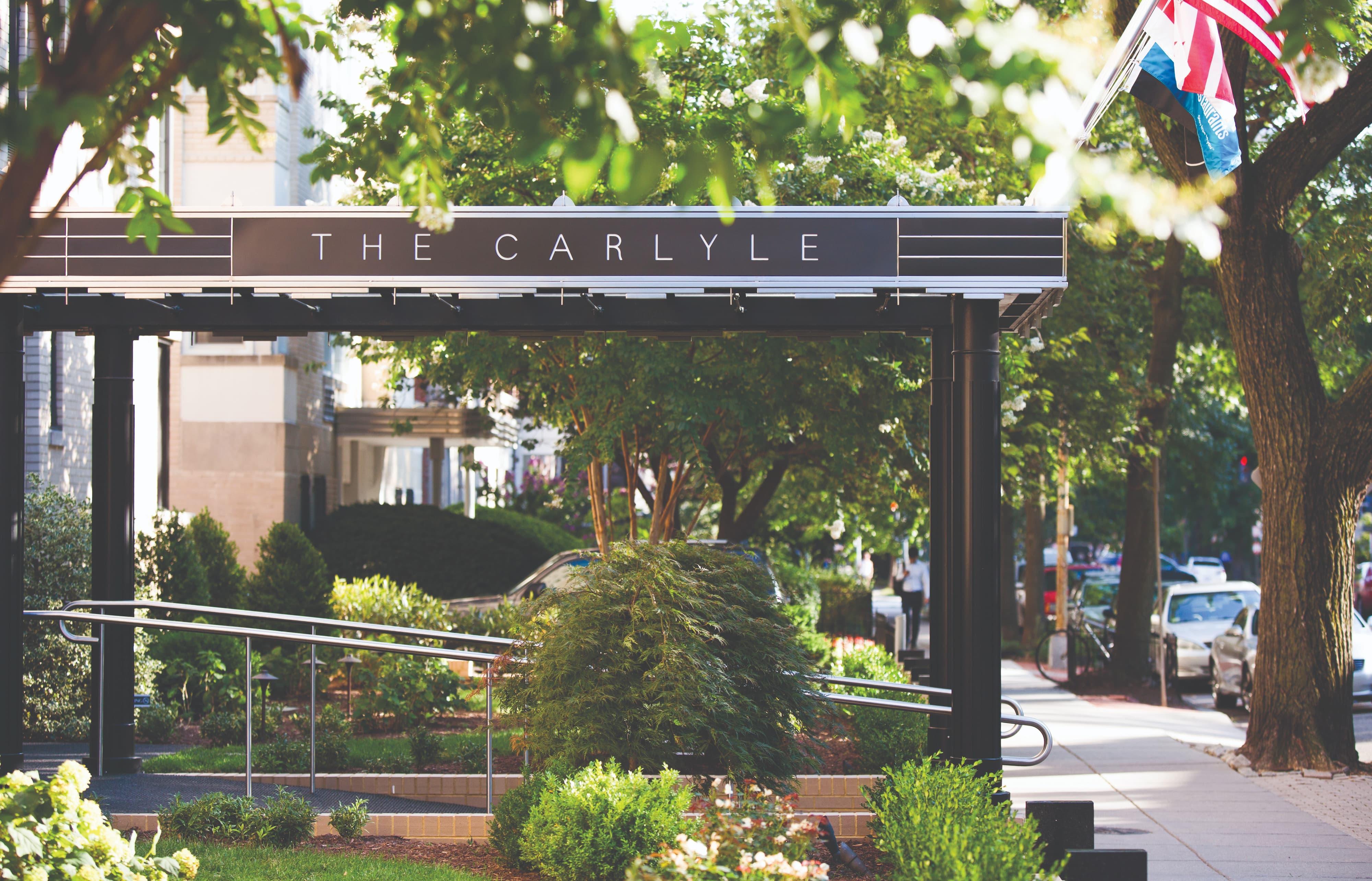 Kimpton Carlyle Hotel, em Washington, D.C., oferece aos hóspedes mostras de arte temporárias