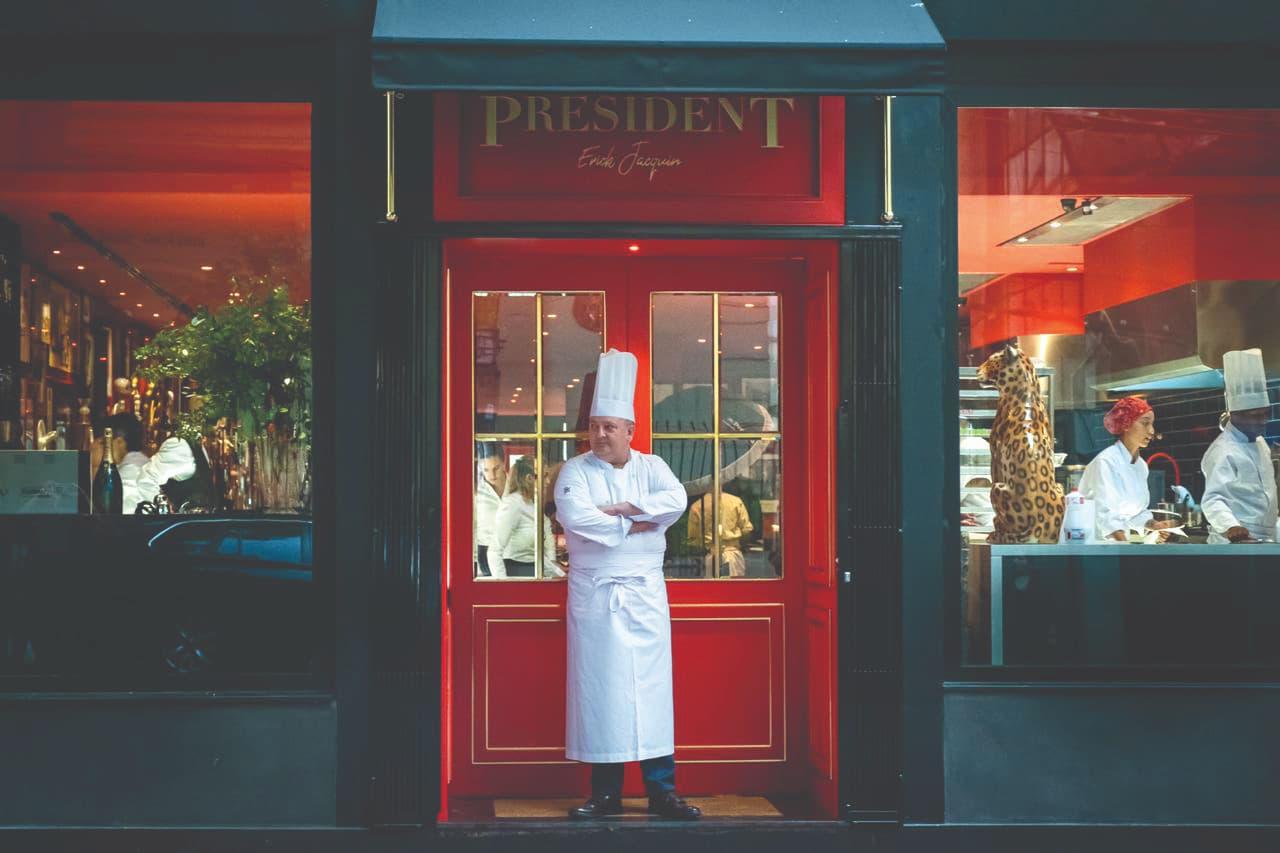 Président é o mais novo restaurante do chef francês Érick Jacquin, em São Paulo