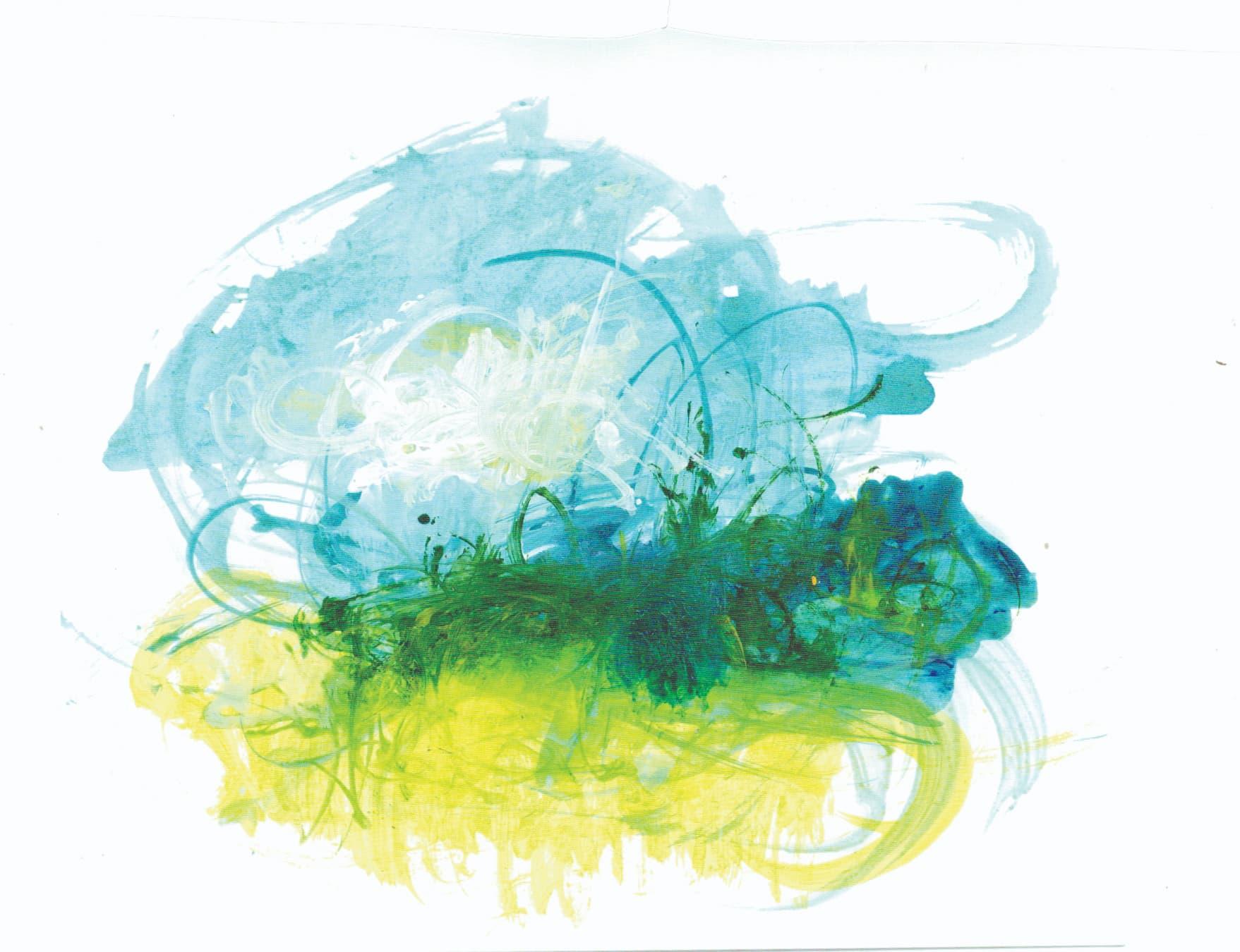 Artista plástico Túlio Fagim retrata o trajeto da água da chuva em ensaio