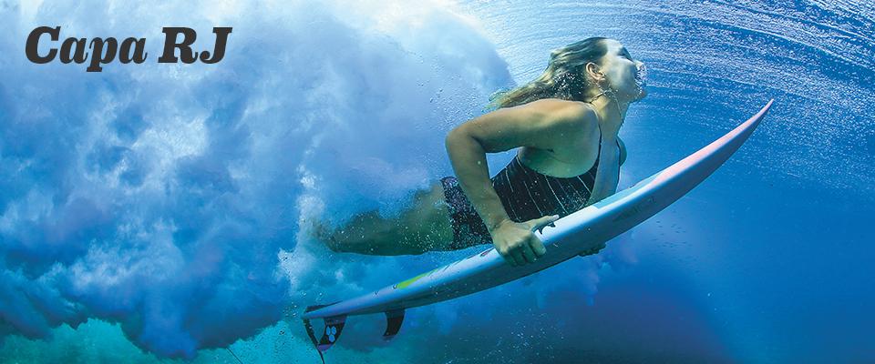 Destaque no surf mundial, Maya Gabeira luta pela preservação dos recursos hídricos