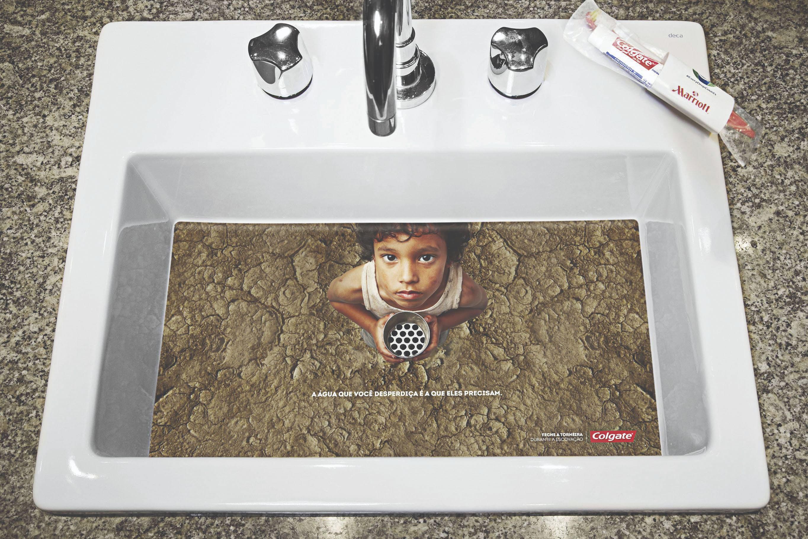 Marketing e marcas: a publicidade na luta contra o desperdício de água