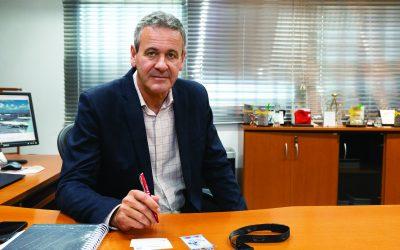 Diretor-Presidente de Viracopos, GustavoMüssnich, explica medidas sanitárias aplicadas no aeroporto
