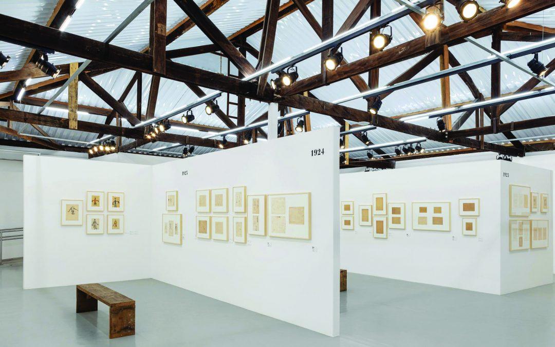 Fábrica de Arte em Itu expõe esboços de Tarsila do Amaral