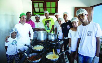 Instituto Capim Santo profissionaliza centenas de pessoas em vulnerabilidade social
