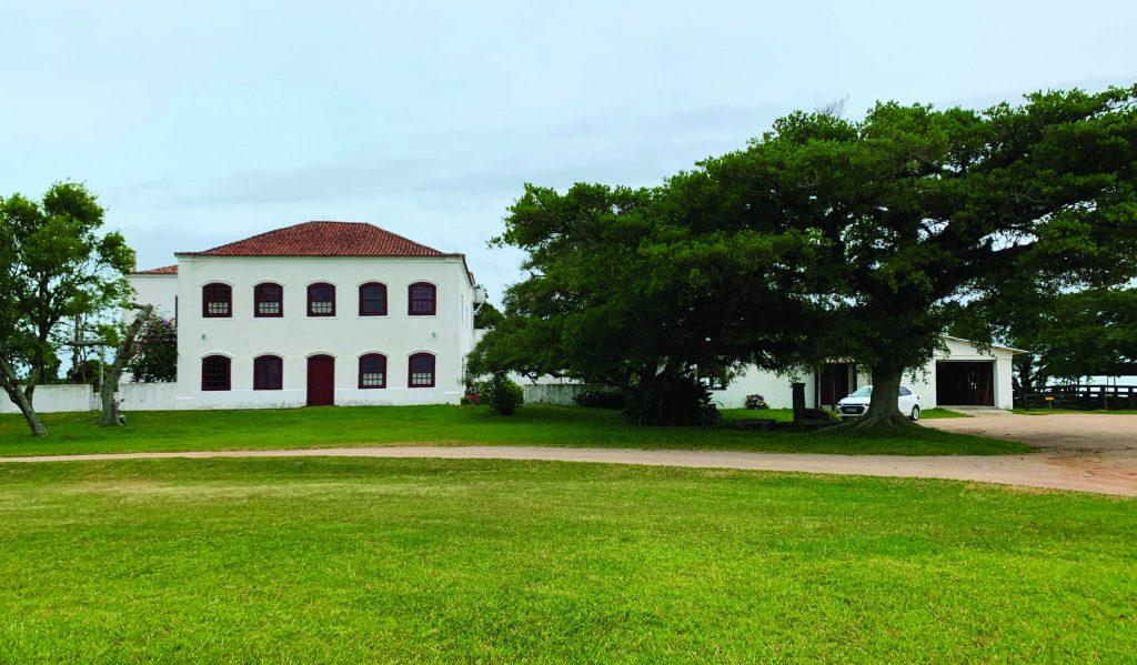 Casarão da Fazenda do Sobrado, em São Lourenço do Sul