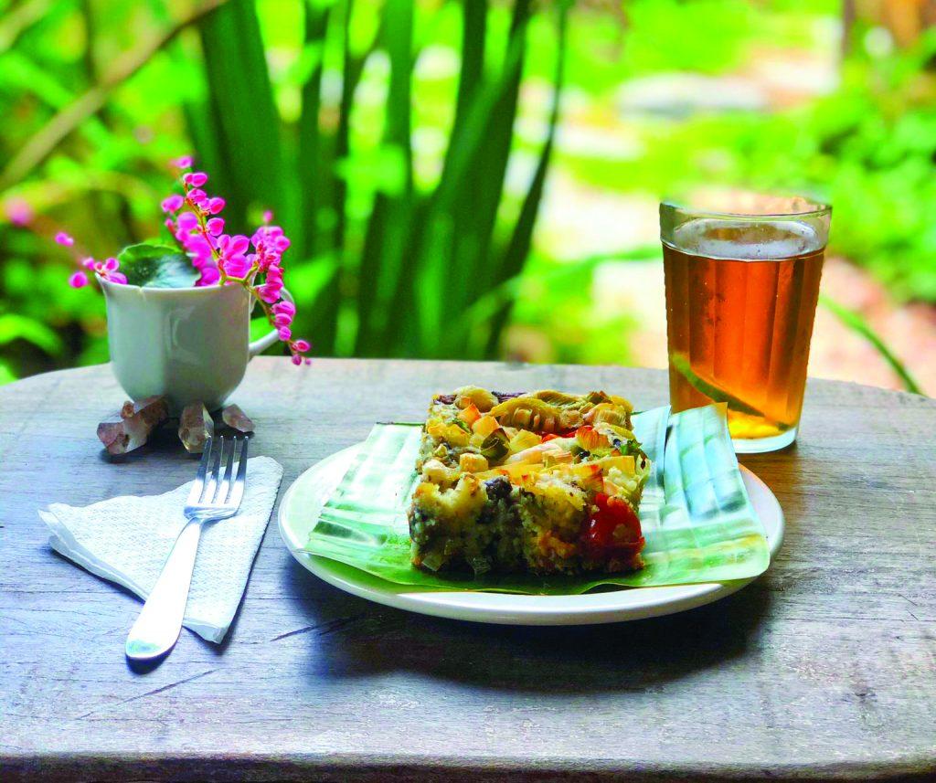 Café da manhã na Shanti Pousada - Foto divulgação