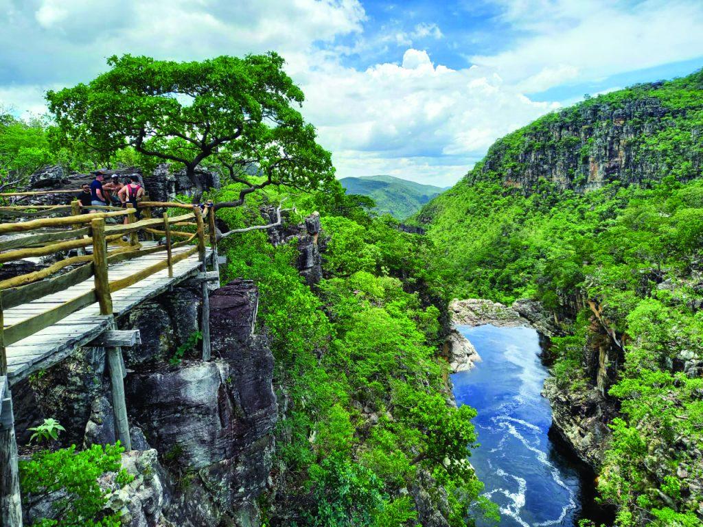 Parque Nacional da Chapada dos Veadeiros - Foto Andrea Falcão