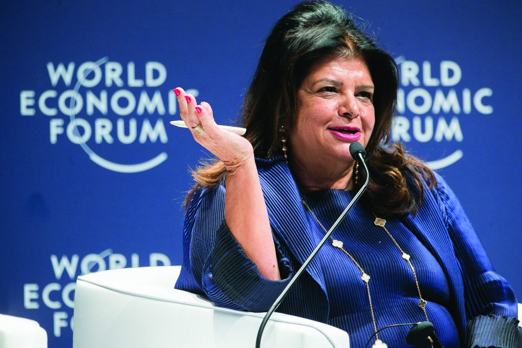Luiza Helena Trajano no Fórum Econômico Mundial - Foto Divulgação