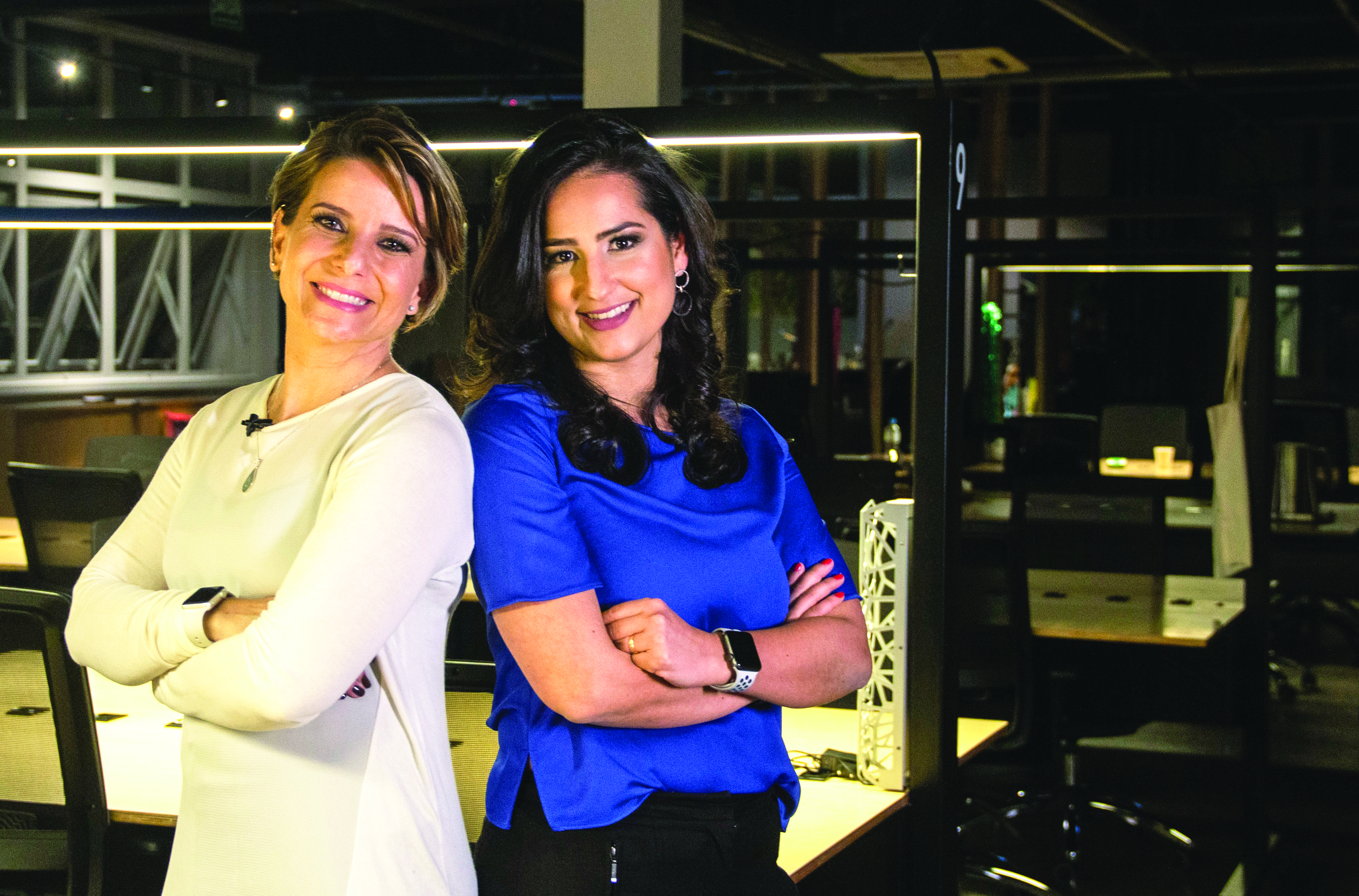 uciana Cattony e Susana Zaman, à frente da consultoria Maternidade nas Empresas - Foto divulgação
