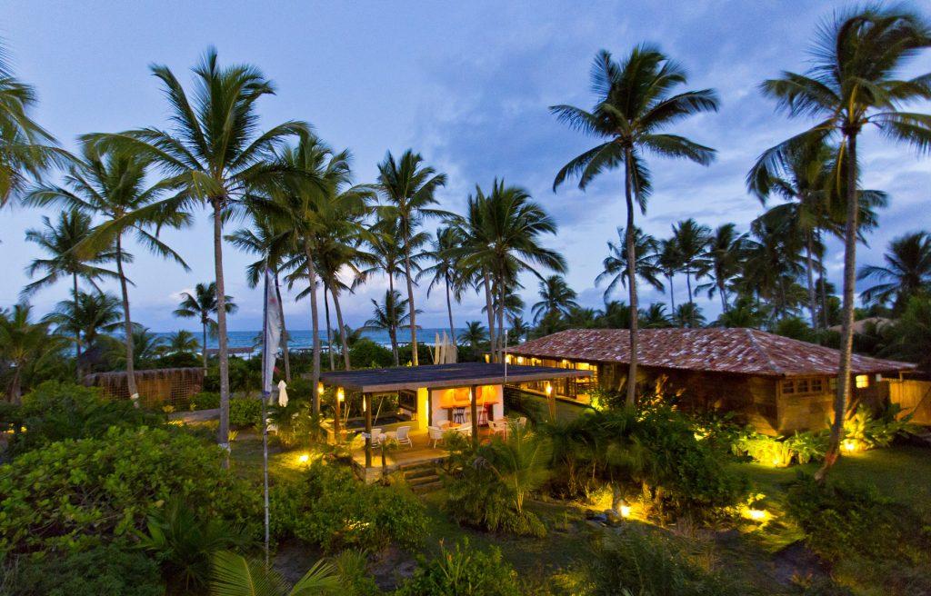 Vista do hotel Casa dos Arandis - Foto: Divulgação