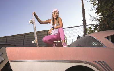 Leticia Bufoni, representante do skate nas Olimpíadas, fala sobre o espaço das mulheres no esporte