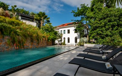 Villa Paranaguá é um hotel boutique com charme francês em Santa Teresa