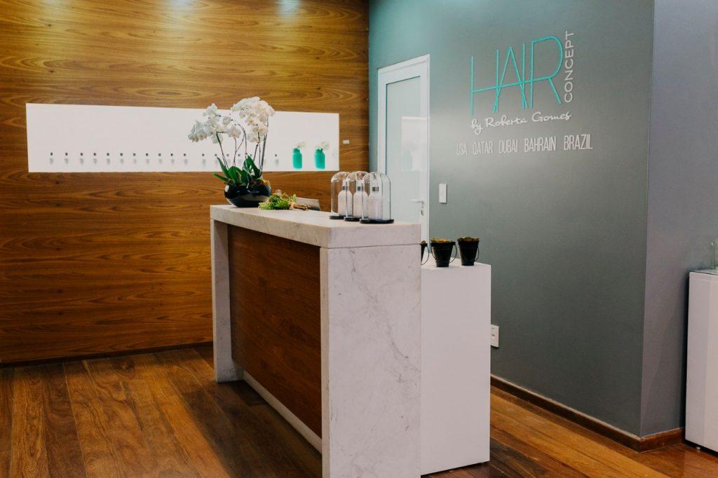 Entrada do Hair Concept, em Campinas - Foto: Divulgação