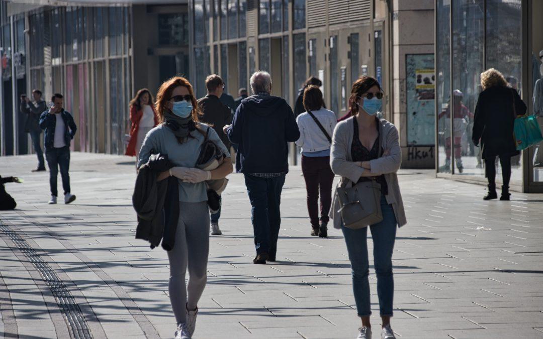 Caminhar tornou-se uma opção favorita na pandemia