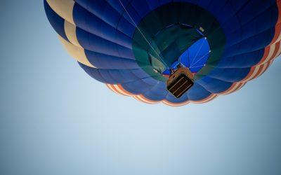 Passeios de balão oferecem a bela visão aérea de Campinas