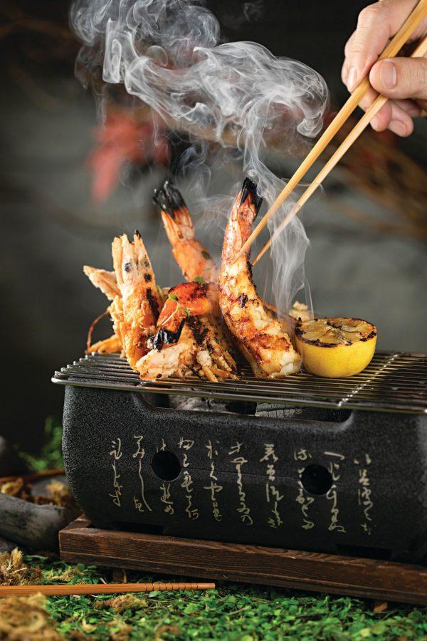 Camarão marinado ao molho cítrico do restaurante Spicy Fish - Foto: Rodrigo Azevedo   Divulgação