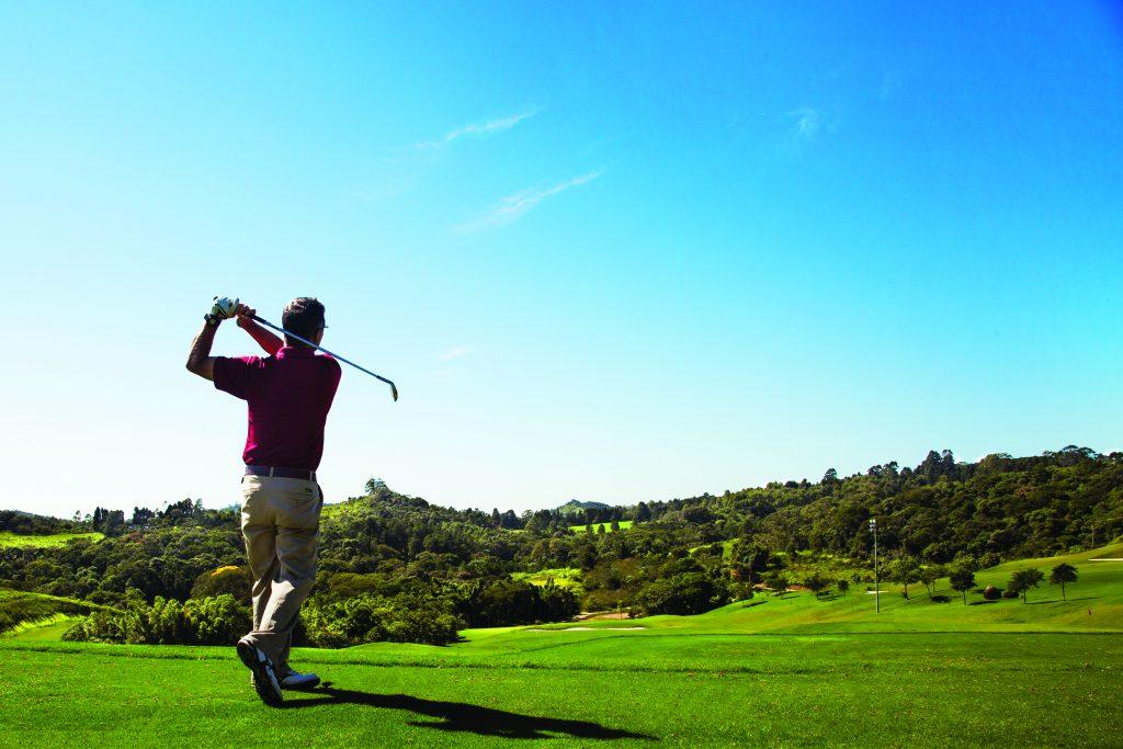 Campo de golfe do Hotel Villa Rossa - Foto: Divulgação