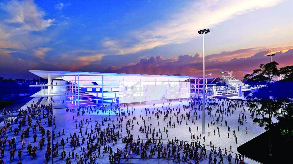 Projeto da Arena Multiuso do Distrito Anhembi - Foto: Divulgação