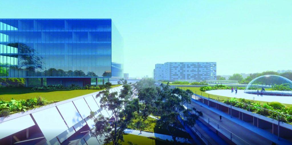 Projeto de conexão do Distrito com hotel e centros comerciais - Foto: Divulgação