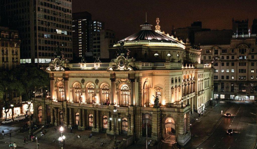 Fachada do Theatro Municipal de São Paulo - Foto: Fabiana Stig