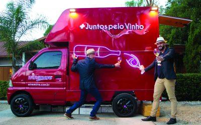 Winemove, o novo negócio de vinhos itinerantes viaja pelo interior paulista sobre quatro rodas